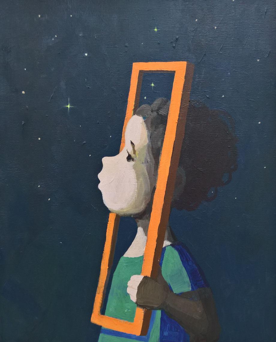 window - Acryl auf Leinwand, 50x40cm, 2016 | verkauft