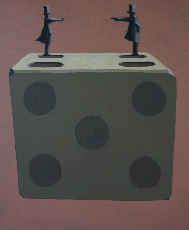 the challenge - Acryl auf Leinwand, 60x50cm, 2015