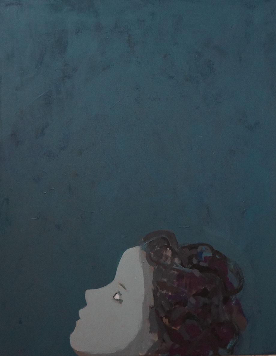 moonlight - Acryl auf Leinwand, 64x50cm, 2014 | verkauft