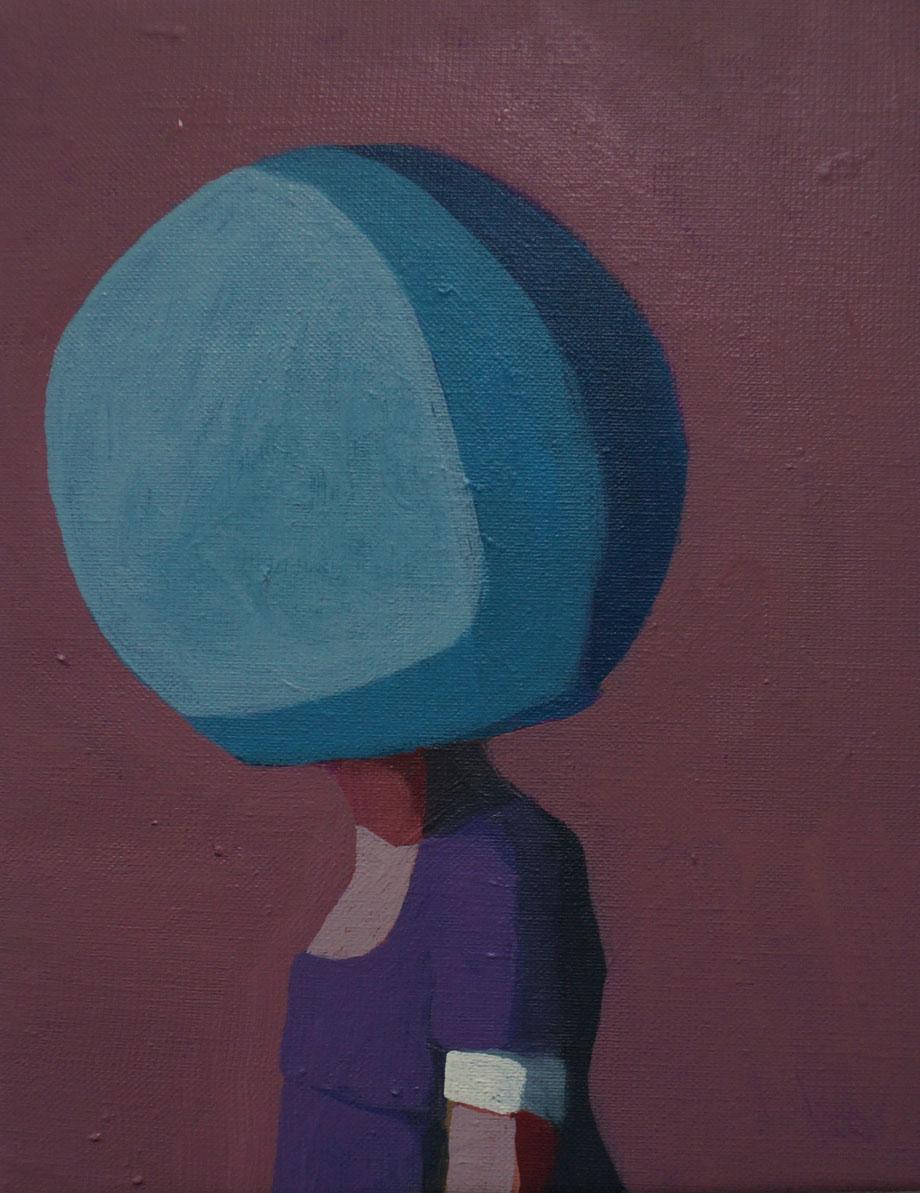 tiny tales - Acryl auf Leinwand, 30x24cm, 2015