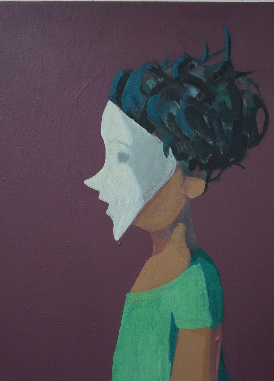 venetian dream - Acryl auf Leinwand, 40x30cm, 2014