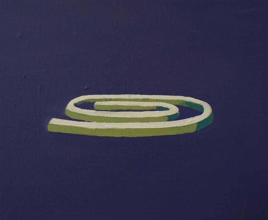 accessories - Acryl auf Leinwand, 24x30cm, 2015