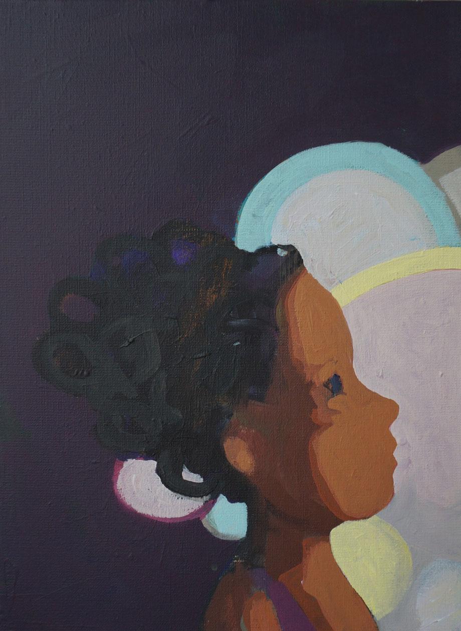 sweet light - Acryl auf Leinwand, 40x30cm, 2015 | verkauft