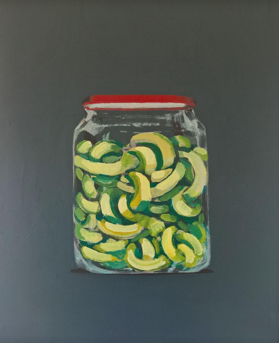 jar - Acryl auf Leinwand, 60x50cm, 2016