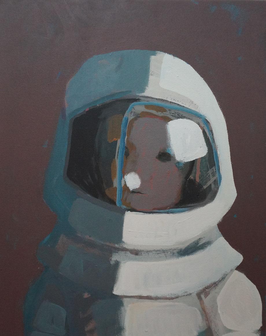 jasper's trip - Acryl auf Leinwand, 50x40cm, 2014