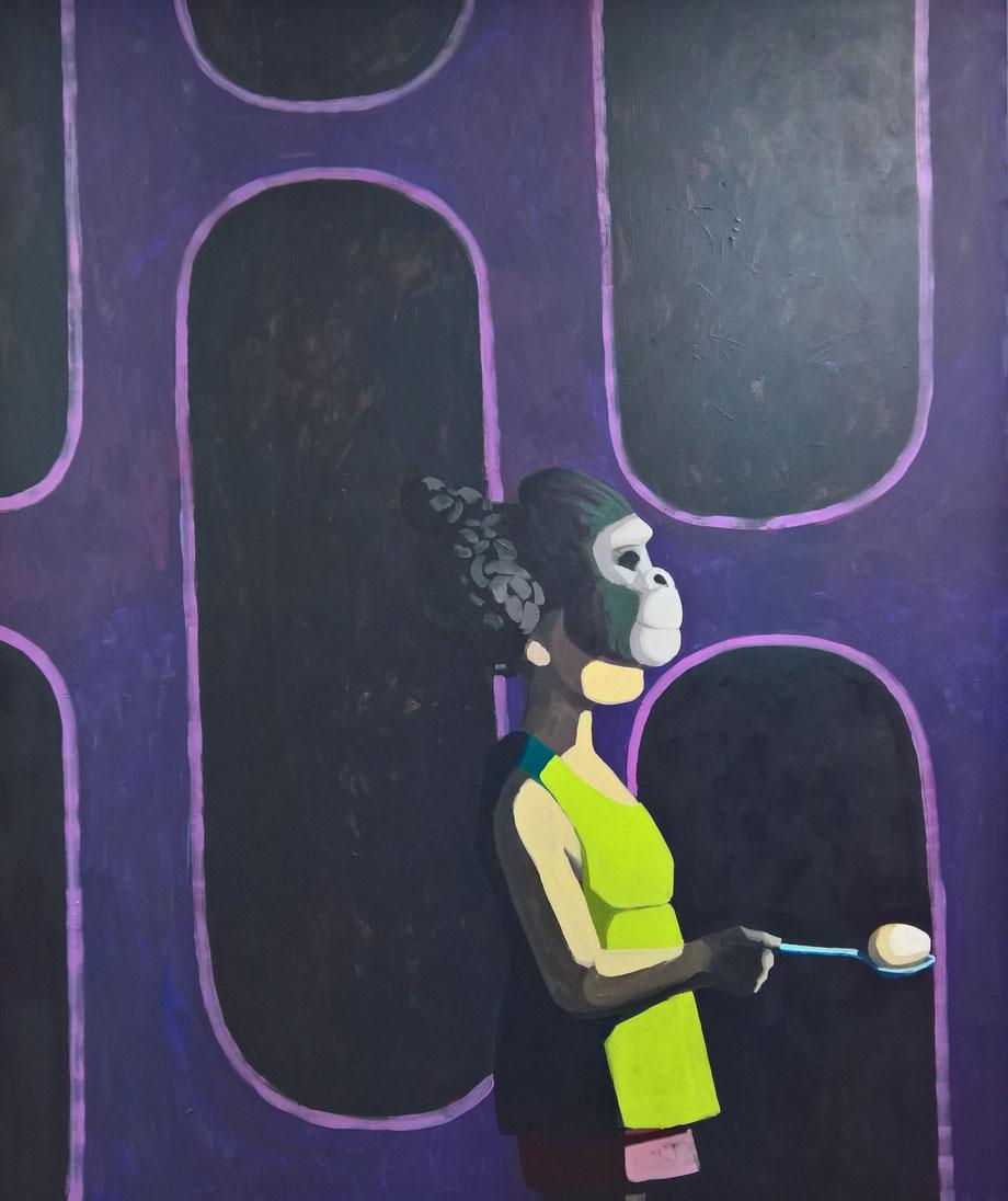 evolution - Acryl auf Leinwand, 145x120cm, 2017