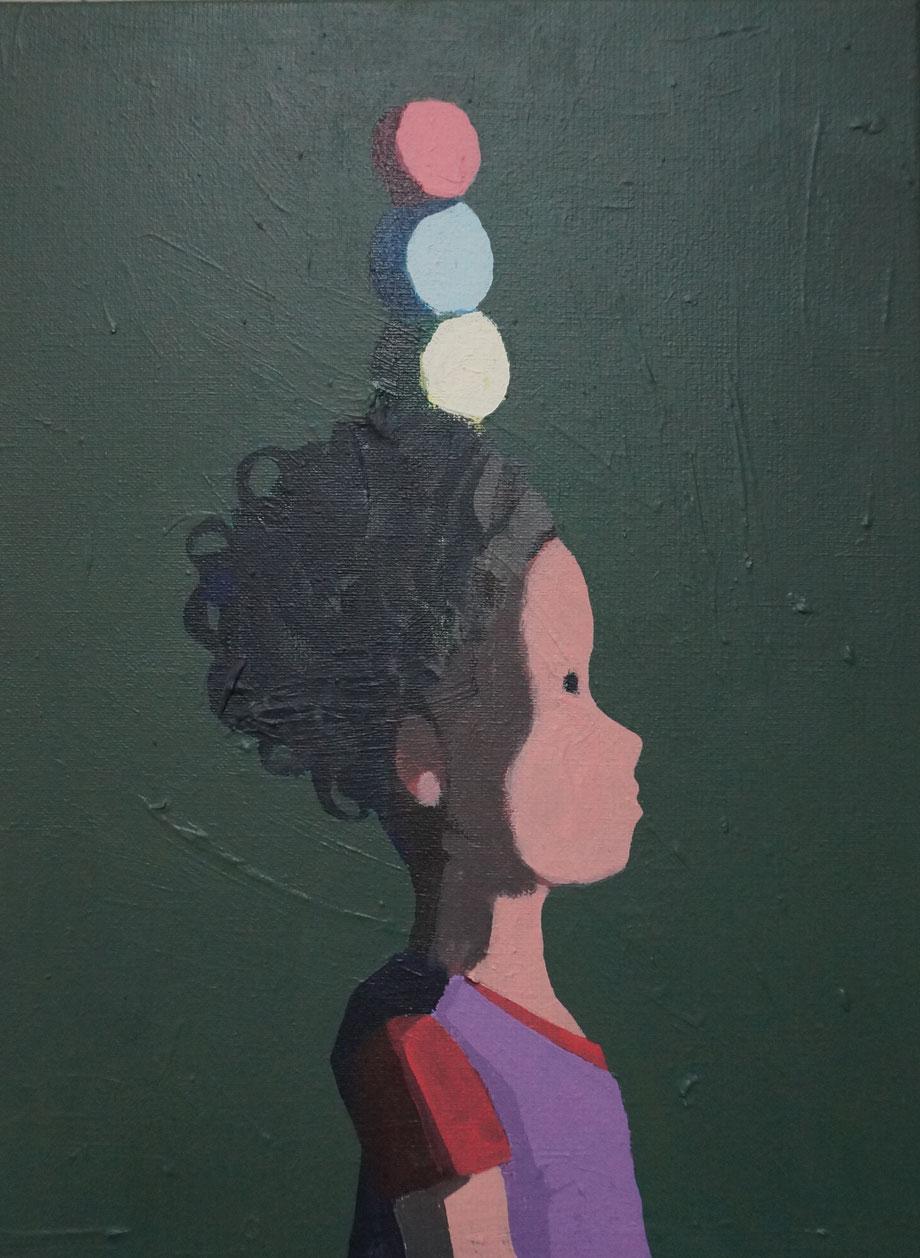 marbles - Acryl auf Leinwand, 40x30cm, 2015 | verkauft