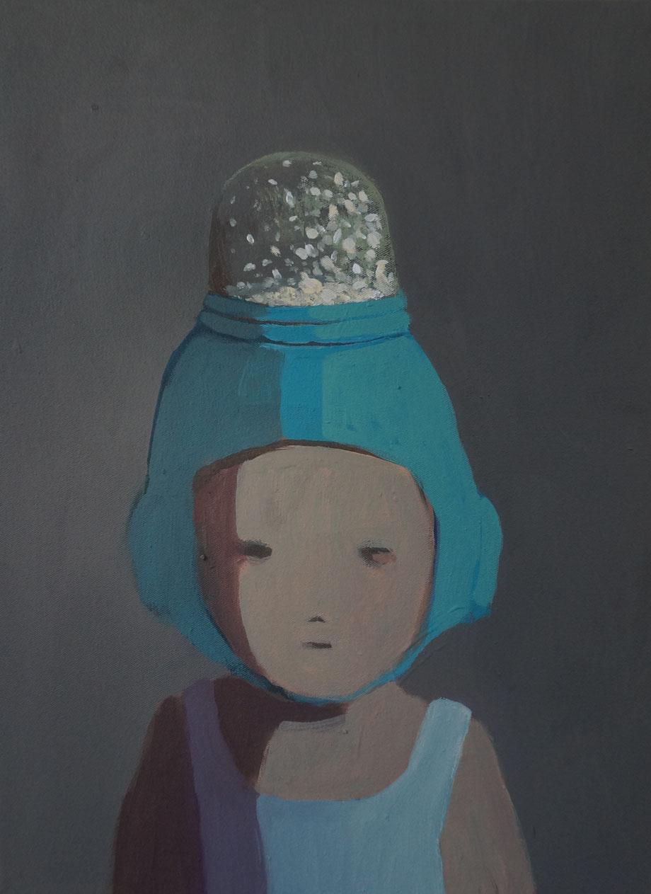 snowdome - Acryl auf Leinwand, 40x30cm, 2014 | verkauft