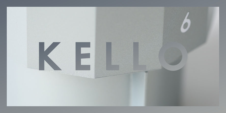 KELLO table clock series by Martin Tony Häußler_title