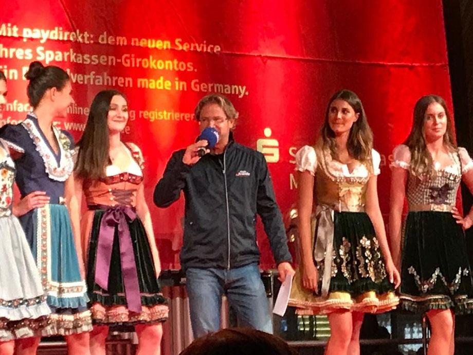 Professionelle Moderatoren * Andreas Karg (Radio Arabella / PRO 7 & SAT 1) moderiert für die Sparkasse München