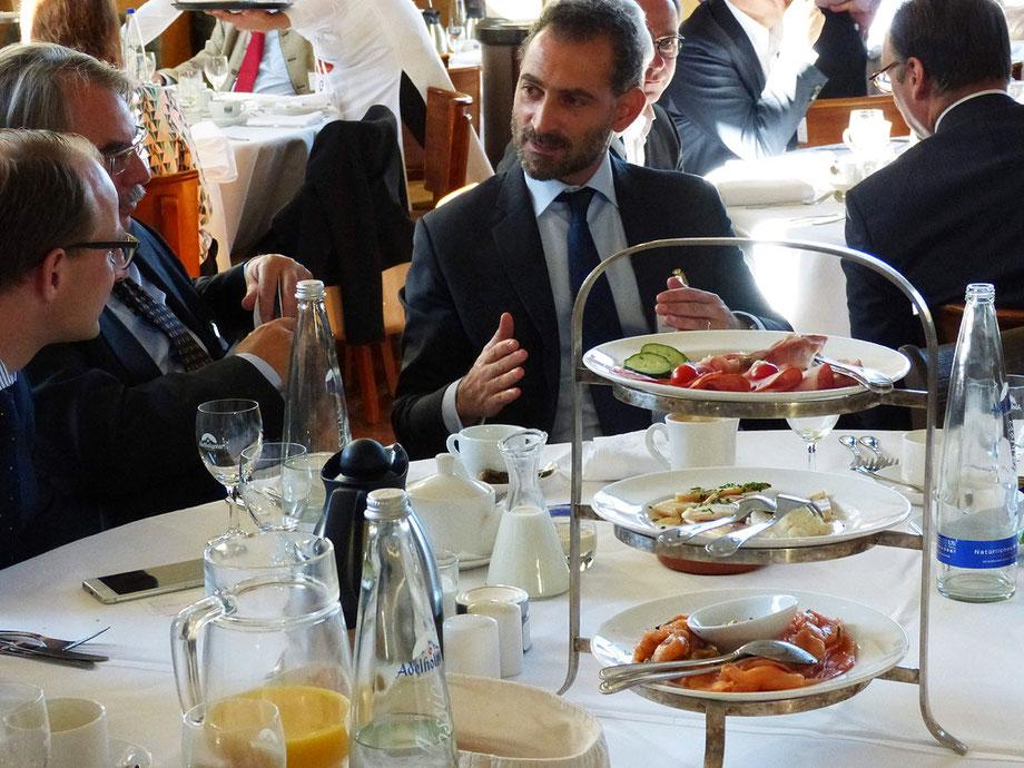 Führungskräfte Meeting im Seehaus München