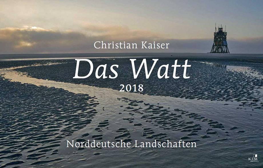 Kalender Watt 2018 im KJM Verlag