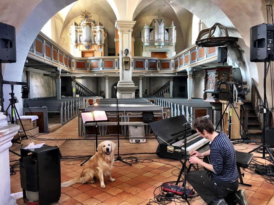 Soundcheck Rheinsberg