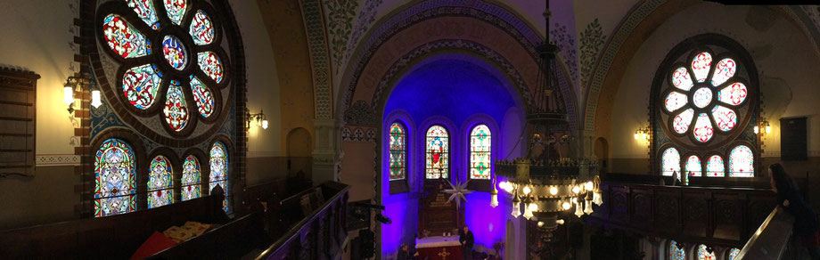 Innenansicht Kirche Annahütte