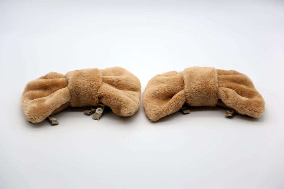 neco(ネコ)という名前をつけた、GETALS(ゲタル)用の防寒カバーです。
