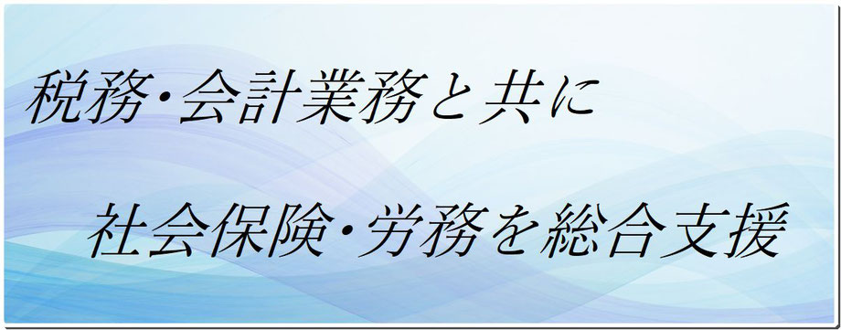 福岡市 税理士兼社会保険労務士 home