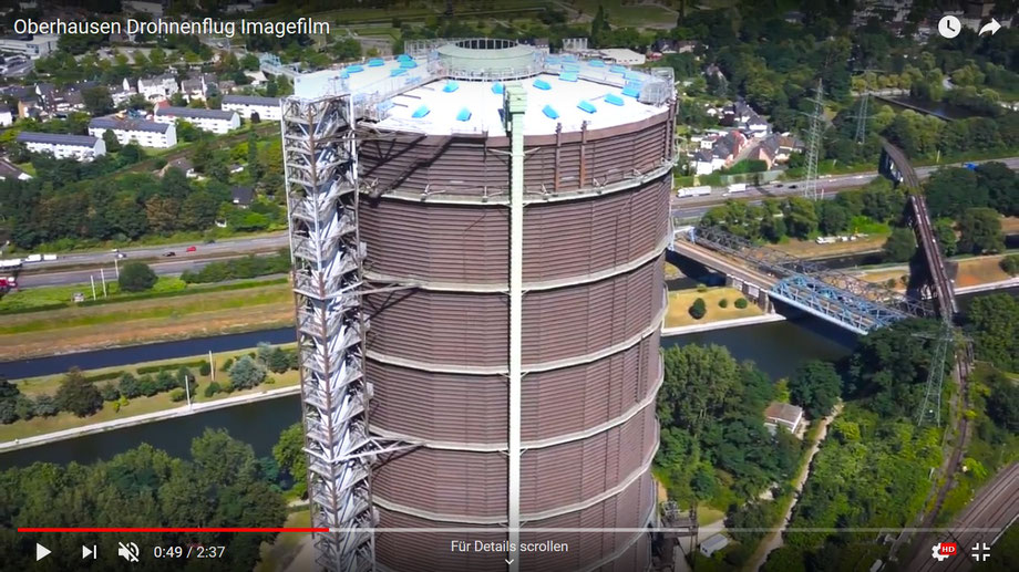 Video vom Oberhausen auf YouTube