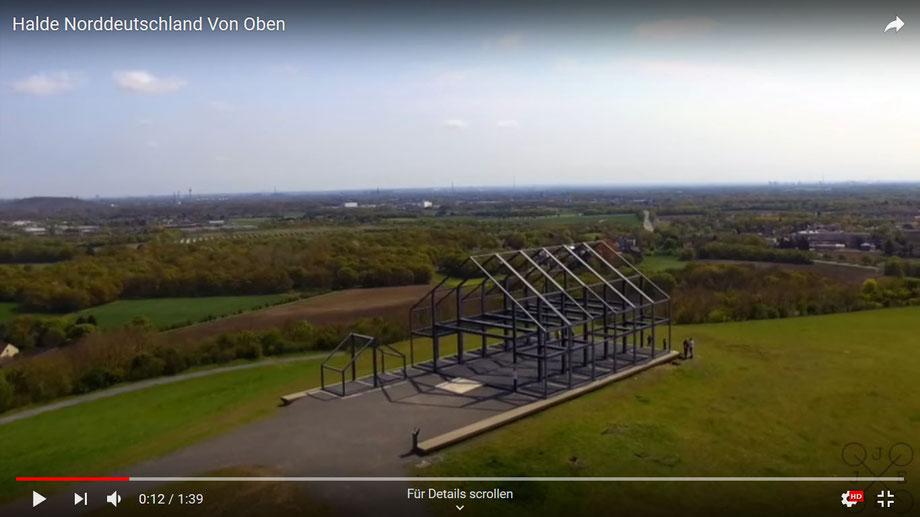 Video von der Halde Norddeutschland auf YouTube