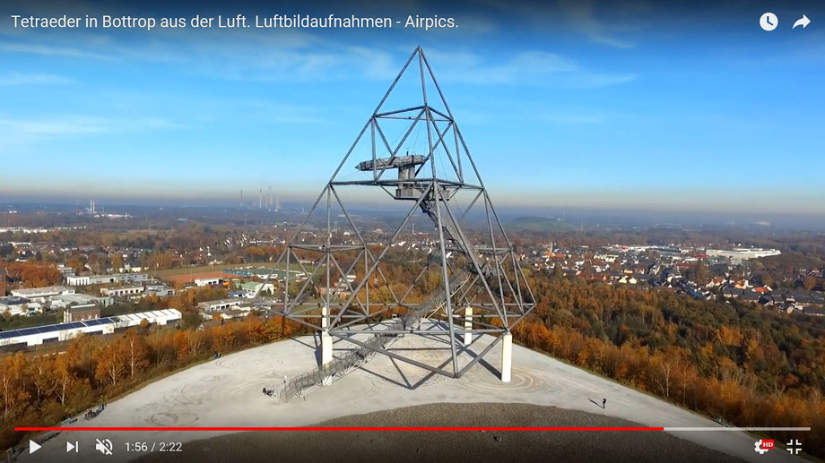 Video vom Tetraeder auf YouTube