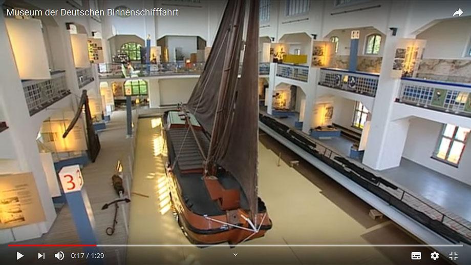 Video von Binnenschifffahrtsmuseum auf YouTube