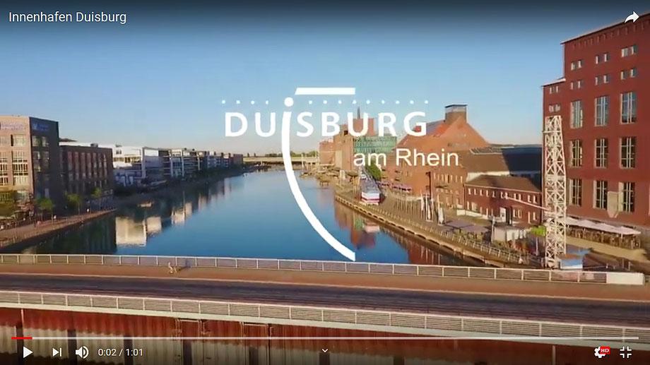 Video der Stadt Dusiburg auf YouTube