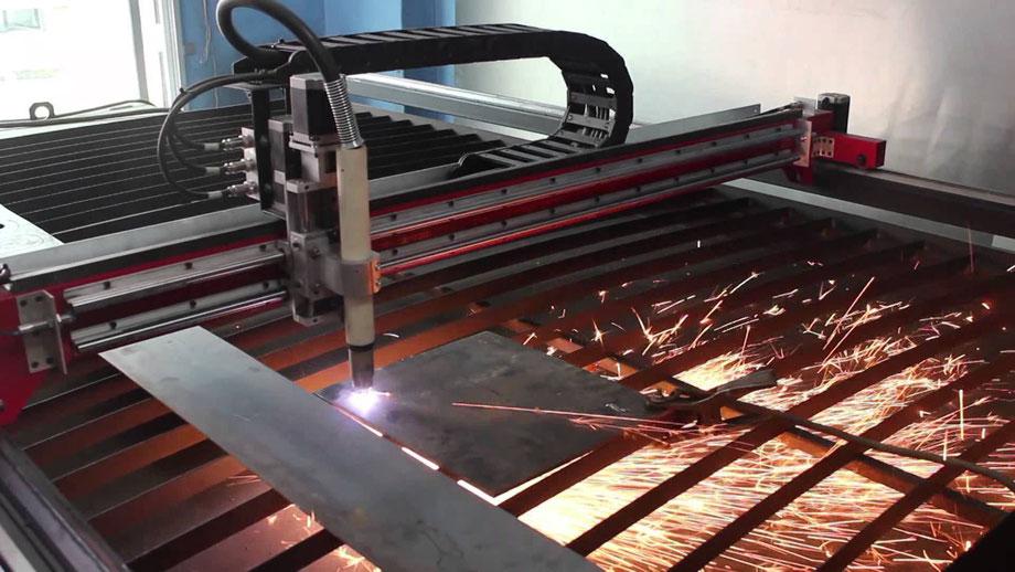 OXICORTE DE METALES CNC
