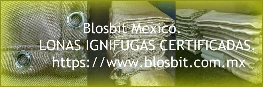 LONAS IGNIFUGAS EN LA CIUDAD DE MÉXICO. CDMX.