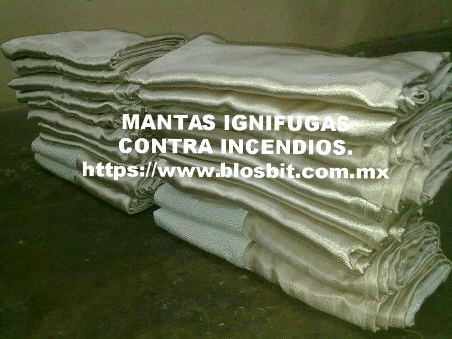 MANTAS IGNÍFUGAS PROTECCIÓN CONTRA INCENDIOS.