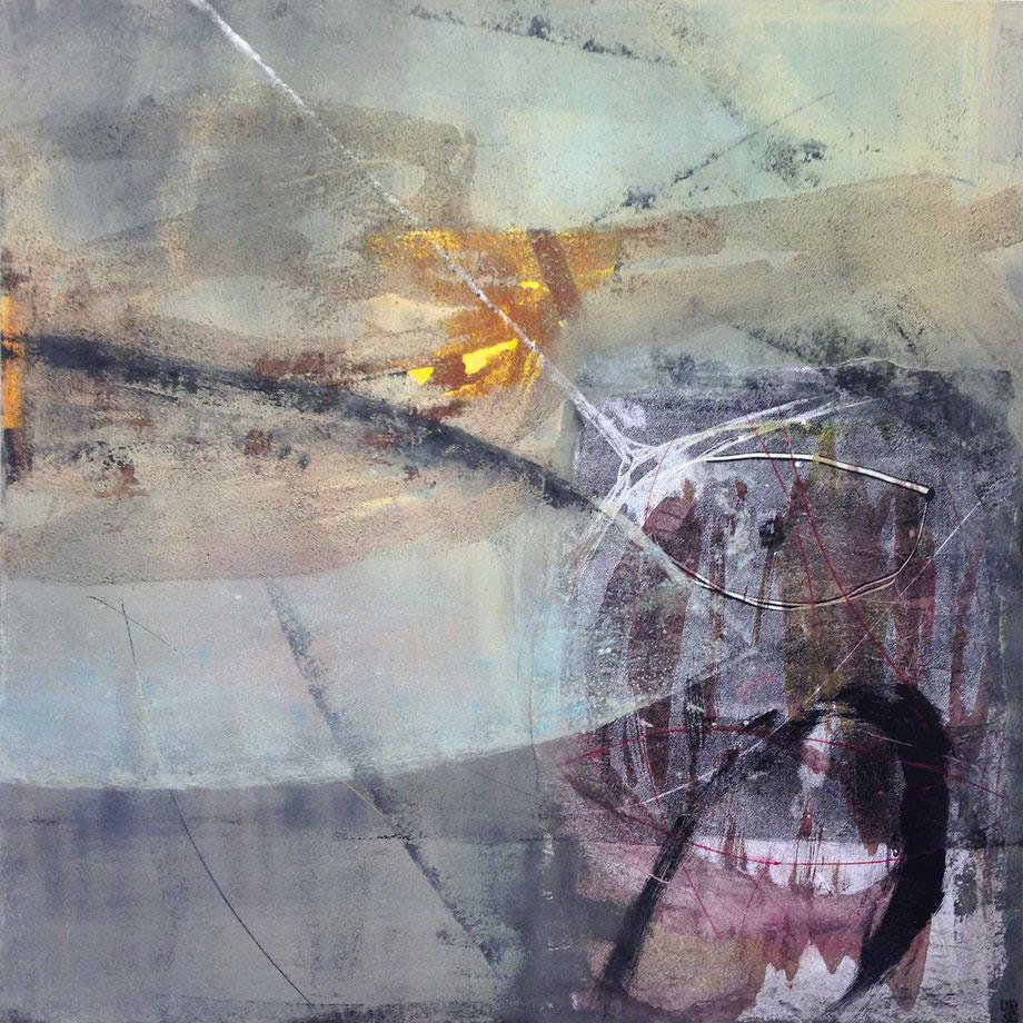 Ursula Steiner Lenzin • Ohne Titel • Acryl auf Papier • 2016 • 70 x 100 cm