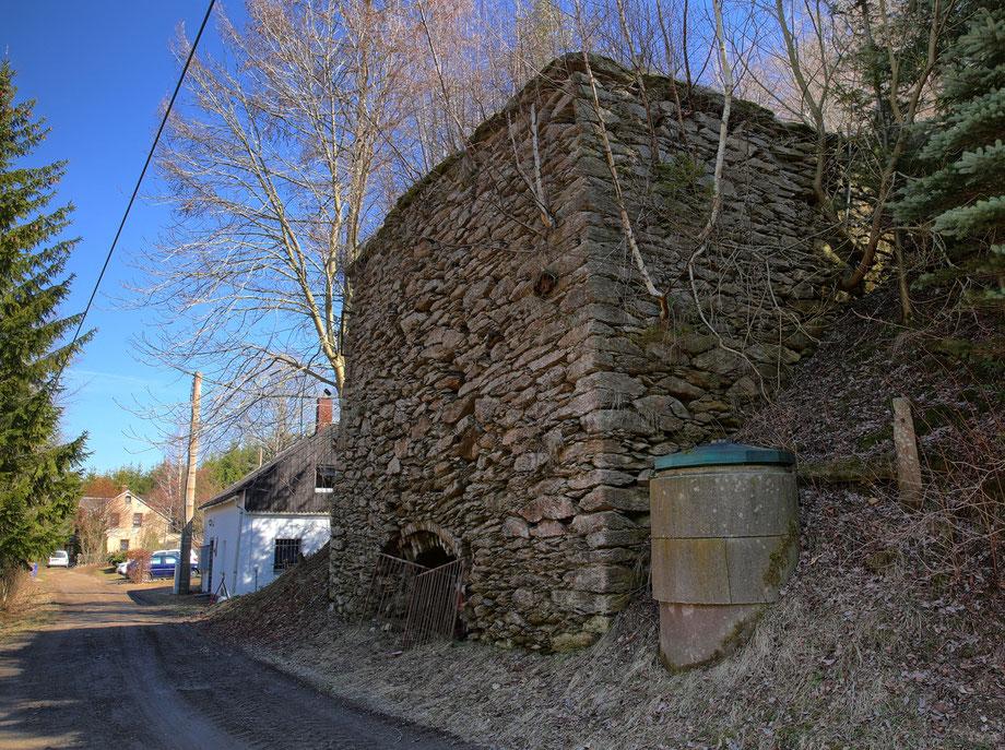 Der alte Kalkofen am ehemaligen Kalkwerk