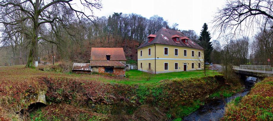 Das ehemalige Amtsgebäude der Fürstenberg'schen Eisengießerei