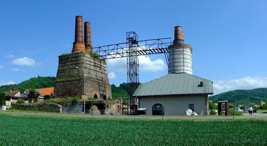historischer Kalkofen in Tremoschnitz (Třemošnice)