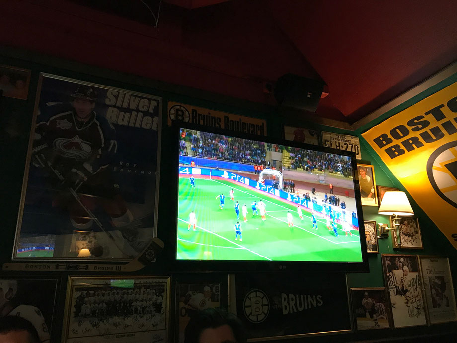Champions League at the pub