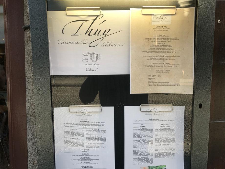 New Thuy Vietnamese Restaurant, Lund