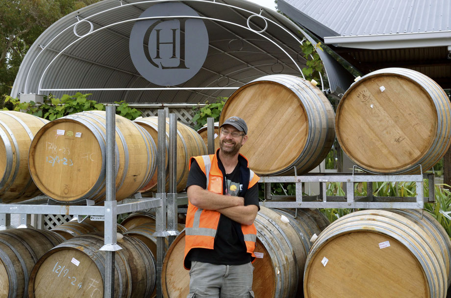 Lawson's Dry Hills Winemaker Marcus Wright