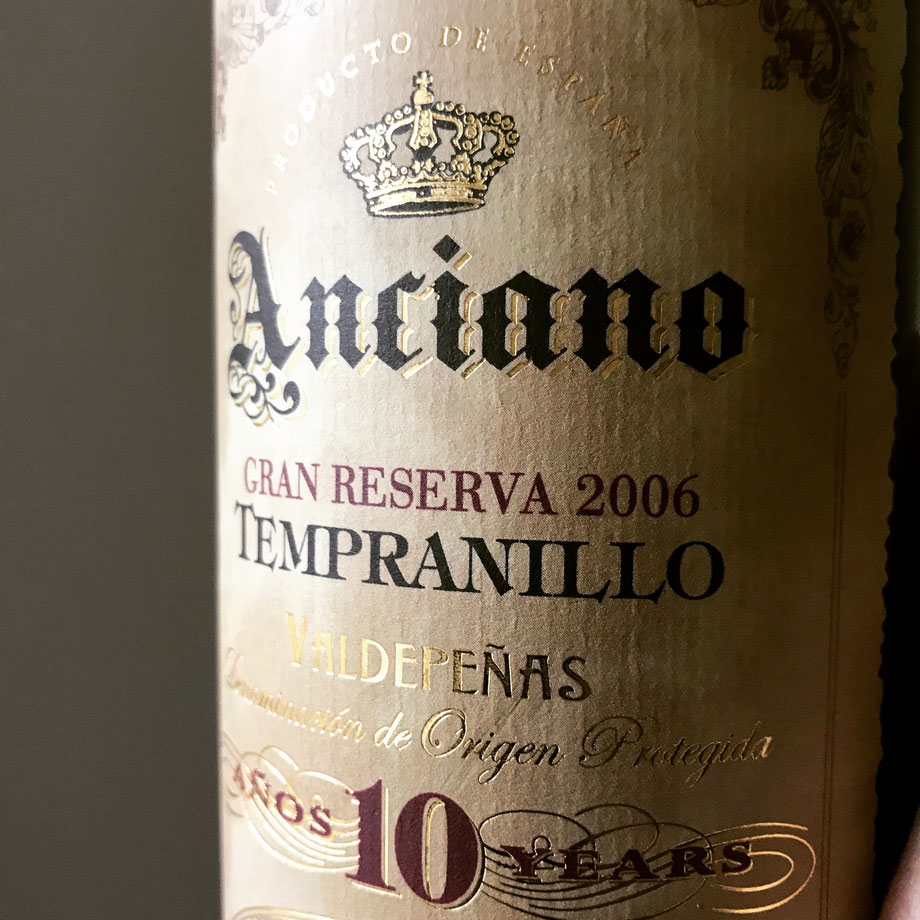 Found this solid Spanish Tempranillo from Anciano at Systembolaget