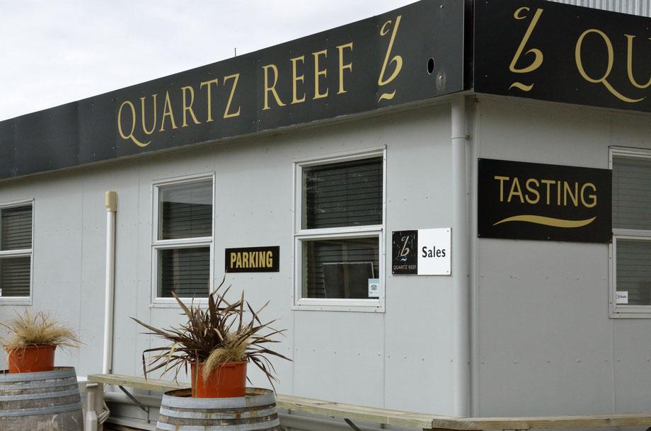 Quartz Reef Cellar Door, Cromwell