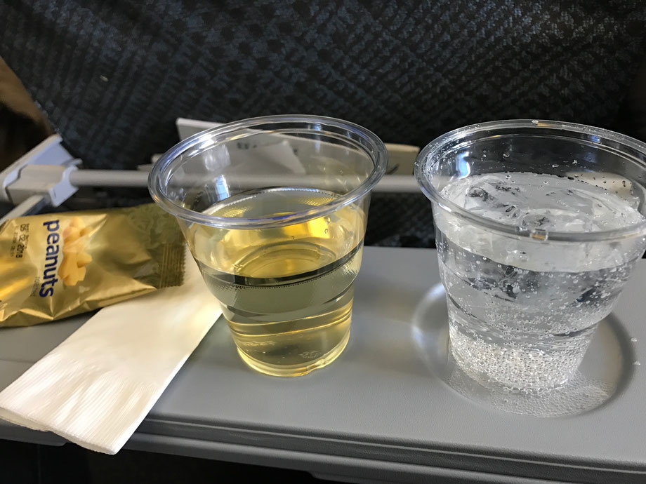 Riesling is always a wine of choice for me on long haul flights - freshens the palate and spirits
