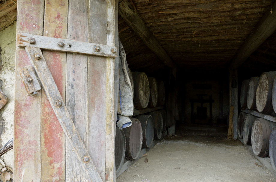 Auntsfield Historic Rammed Earth Cellar, Marlborough