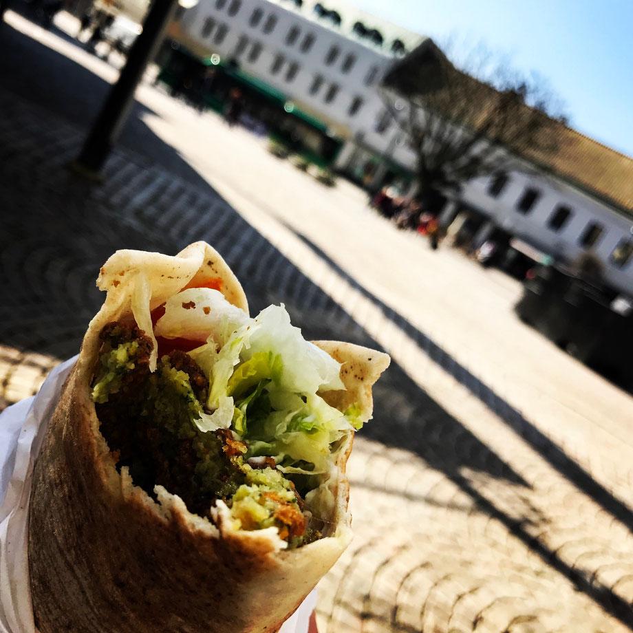 Love the street food in Europe - Lundafalafel