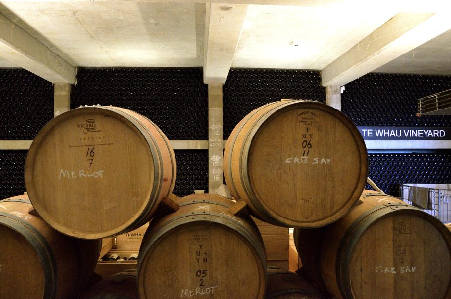 Te Whau Vineyard Cellar, Waiheke Island