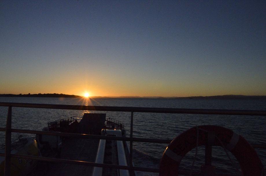 Ferry Ride over to Waiheke Island
