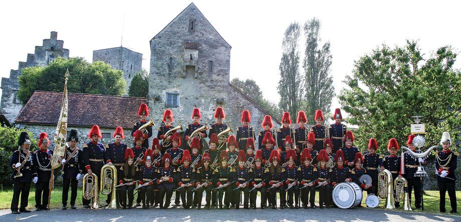 ...oder in Uniform – bei Auftritten mit der Bürgerwehr (z.B. beim Großen Zapfenstreich)