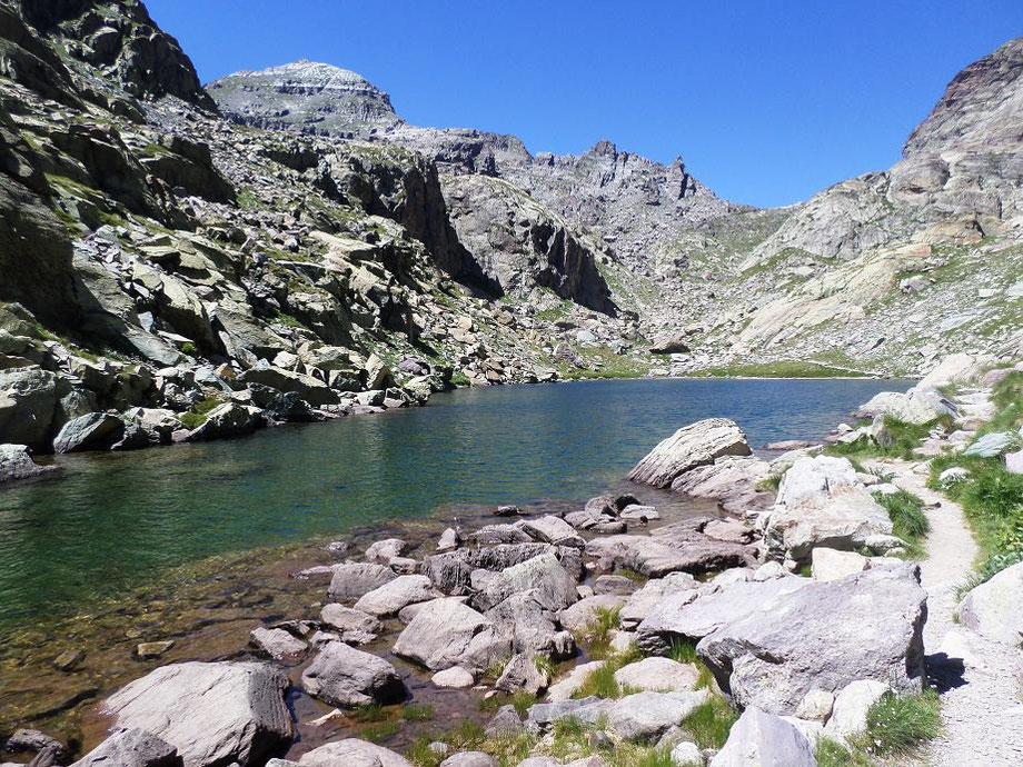 Le lac des Merveilles qui est finalement le moins beau de tous