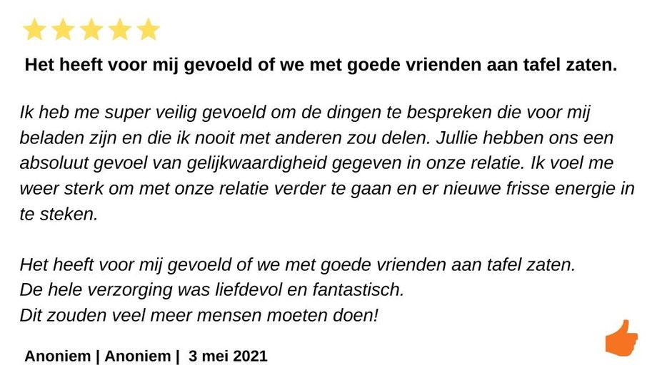 Review Relatieweekend Kim Kromwijk en Jeroen Kromwijk