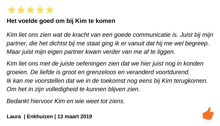 Review relatietherapie Enkhuizen. Kracht van goede communicatie bij ons dilemma scheiden of blijven.