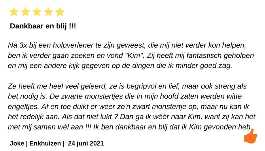 Review Kim Kromwijk-Lub Relatietherapeut