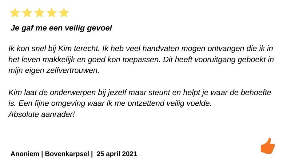 Reviews Kim Kromwijk-Lub