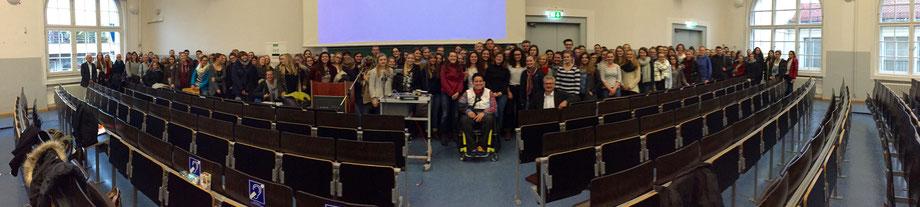 Vortrag über Inklusion und Sport (jährlich) an der LMU München