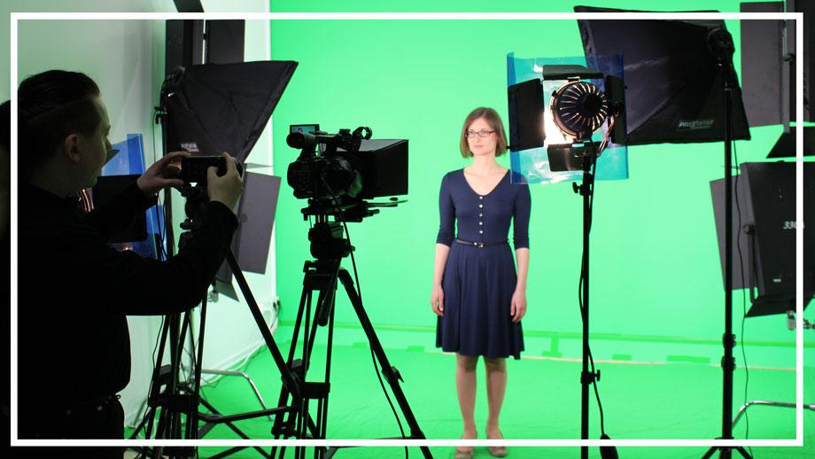 Videoproduktionen im Greenscreenstudio in Leipzig
